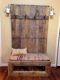 entryway bench pallet entryway bench the owner builder network