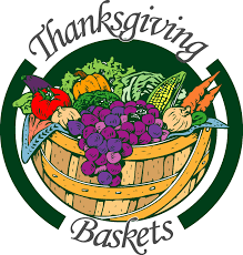 thanksgiving baskets thanksgiving basket clipart clipartxtras