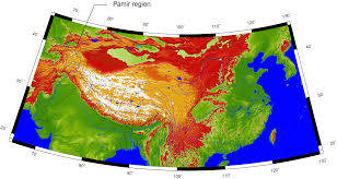 Northern Asia Map by Images Of Active Tectonics From The Northern Pamirs