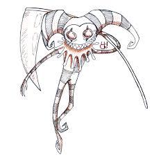 creepy voodoo doll drawings images