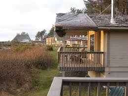 Cabins in a row Picture of Quileute Oceanside Resort Forks