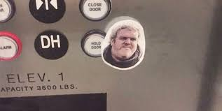 Hodor Meme - game of thrones fans are putting a hodor twist on elevators
