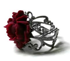 red rose rings images Red rose ring victorian mourning jewelry 2352560 weddbook jpg