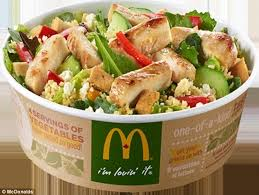 mcdonald u0027s new u0027healthy u0027 items contain more calories than a burger