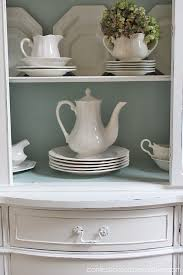 Annie Sloan Duck Egg Blue by Duck Egg Blue And White China Cabinet Confessions Of A Serial Do