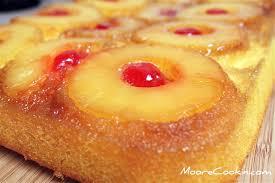 pineapple upside down cake moore cookin