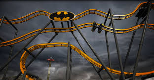 Six Flags Connecticut Batman The Ride At Six Flags Fiesta Texas Opening Summer Of 2015
