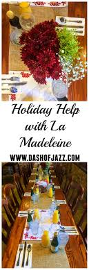 help with la madeleine dash of jazz dash of jazz