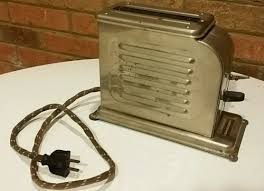 Toastmaster Toaster Antique Vintage 1927 Waters Genter Toastmaster Toaster Model 1 A 1