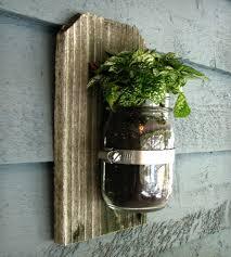 single mason jar wall planter home decor u0026 lighting tickled