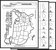 map worksheets