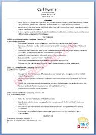 Sample Engineering Resumes by Marine Engineer Sample Resume 18 Uxhandy Com