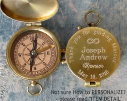 confirmation gift for boy confirmation gift engraved compass baptism boy gift