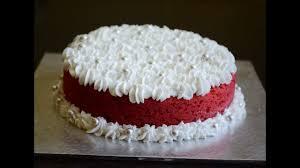 how to bake eggless red velvet cake using pressure cooker no
