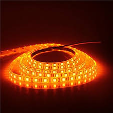 ledglow 4pc orange led car interior underdash lighting