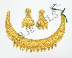 gold necklace new design images Gold necklaces gold jadau necklace manufacturer from new delhi jpg