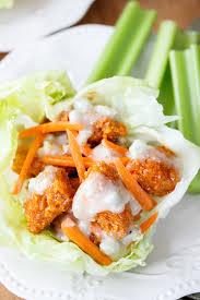 Buffalo Chicken Buffalo Chicken Lettuce Wraps The Cozy Cook