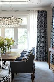 Dining Room Curtain Ideas Jennifer Worts Design Inc Portfolio Drapery Pinterest Navy