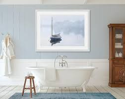 Cape Cod Artwork - nautical boat photography large vertical wall art coastal