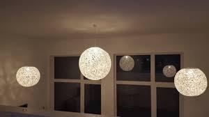 Wohnzimmer Lampenschirm Diy Wie Du Eine Faden Lampe Perfekt Rund Hinbekommst