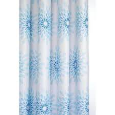 Aqua Blue Shower Curtains Blue Shower Curtains Shower Accessories The Home Depot