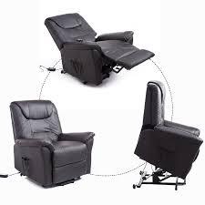Office Chair Recliner Aosom Homcom 42