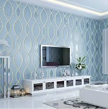 livingroom wallpaper blue living room wallpaper modern house