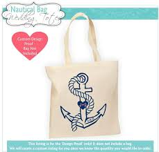nautical bags destination wedding bag proof wedding welcome bag nautical tote