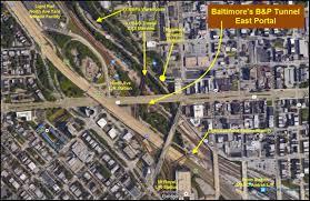 Map Of Penn Station Baltimore U0027s B U0026p Tunnel Railfan Guide