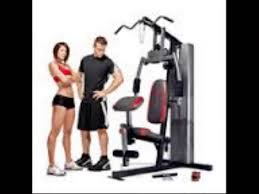 marcy 150 lb stack home gym video youtube