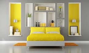 chambre jaune et gris best chambre a coucher gris et jaune images design trends 2017