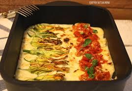 ricette con fiori di zucchina al forno fiori di zucca ripieni al forno quattro salti da mina