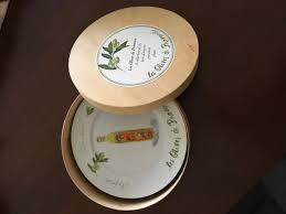 les olives de provence crate barrel 7 1 2 appetizer plates