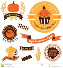 vegan thanksgiving clipart stock vector image 46094235