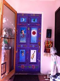 handpainted mexican loteria painted front door i want to do this