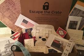 The Room Game - escape crate escape room subscription box cratejoy