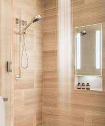heated lighted shower mirror vanity decoration