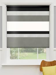 Dark Brown Roman Blinds Black White Grey Curtains Curtain Pinterest Grey Curtains