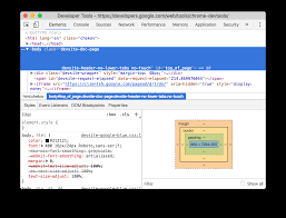chrome devtools tools for web developers google developers