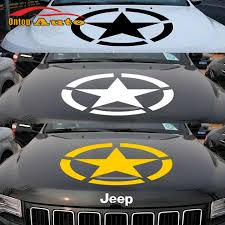 jeep grand cherokee stickers brothers the u s army star hood sticker decal vinyl for jeep