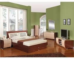 Storage Bedroom Set Made In Italy Two Tone Storage Bedroom Set 44b4211