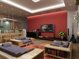 red paint living room ideas centerfieldbar com