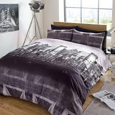 grey patterned single duvet cover duvet cover with pillow case bedding set london skyline black grey union jack grey zebra print duvet cover gray leopard