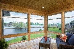 larson launches scenix porch windows with retractable screens