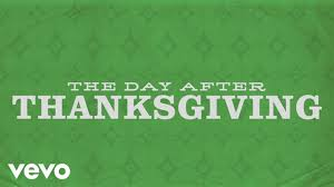 brandon heath the day after thanksgiving official lyric