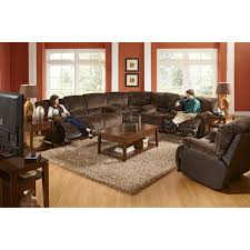 catnapper escalade reclining sectional chocolate walmart com