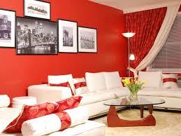 Best Red Living Rooms Interior Design Ideas - Red living room decor