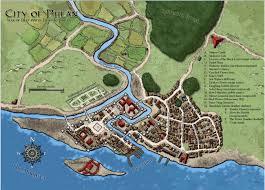 Map Of Faerun Phlan During The Tyranny Of Dragons D U0026d Adventurers League