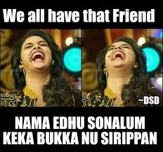 Funny Laugh Meme - tamil actress keerthi suresh latest memes expressions and tolls in