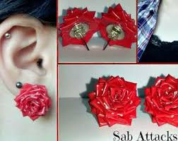 duct earrings best 25 duct ideas on duct flowers